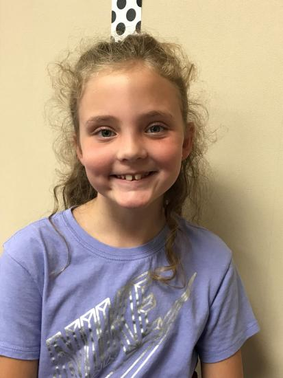 Student Of The Week - Claire Amedeo