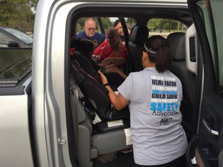 Child Car Seat Inspections By CCEMS